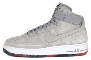 "Futura x Nike ""Perforated"" Air Force 1 High"