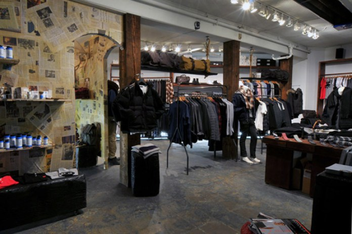 Gitman Bros. x Roden Gray Shop-in-Shop