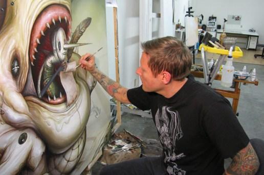 "Greg ""Craola"" Simkins ""The Pearl Thief"" Exhibition Preview"