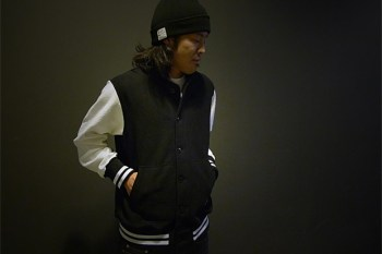 HAVEN x Reigning Champ Fleece Varsity Jacket