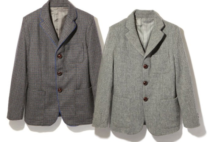 Head Porter Plus Tweed Jacket
