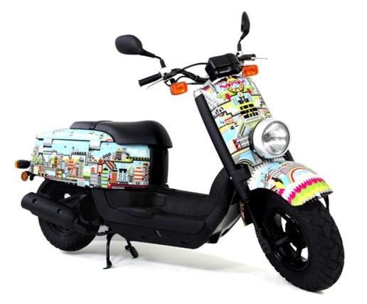 ilovedust x Yamaha Giggle Moped