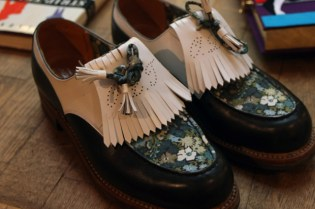 Olympia Le Tan x J.M. Weston Shoes