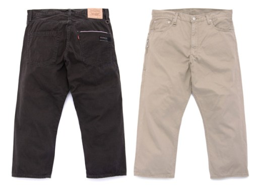 Levi's Fenom 505 Rustic Chino Cropped