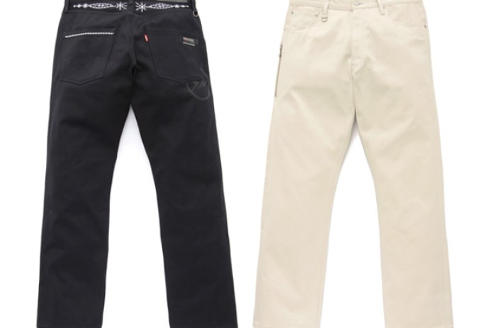 Levi's Fenom DISCO Decoration 505 Satin Jeans