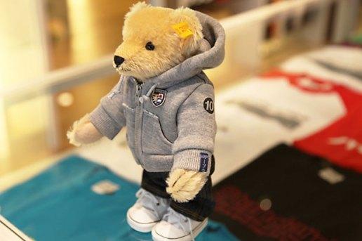 Loopwheeler x Steiff Teddy Bear