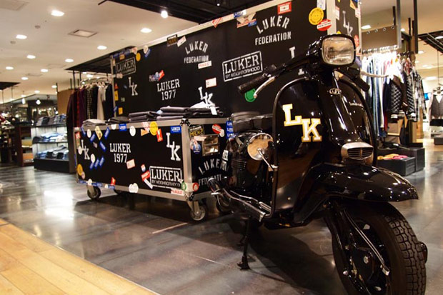 LUKER by NEIGHBORDHOOD Installation @ Isetan Men's