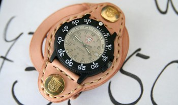 Luminox Japan Leather Watch Holsters