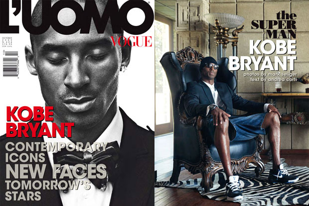 L'Uomo Vogue 2009 October Issue featuring Kobe Bryant