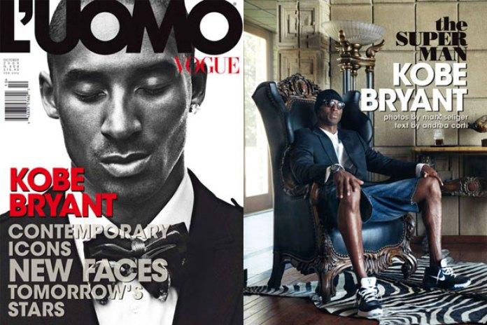 L'Uomo Vogue 2009 October Issue featuring Kobe Bryant