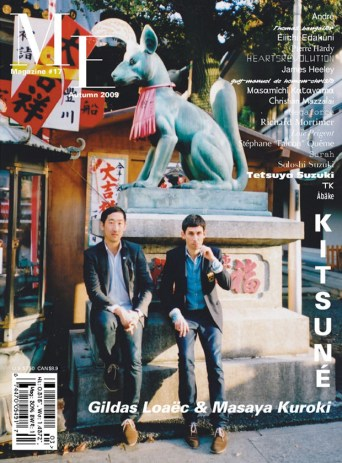 Me Magazine featuring Kitsuné