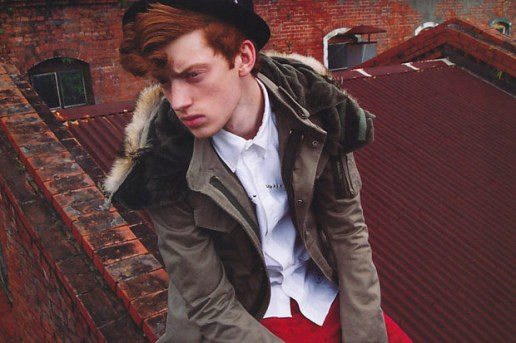 "men's FUDGE November 2009 ""British Military Style"" Editorial"