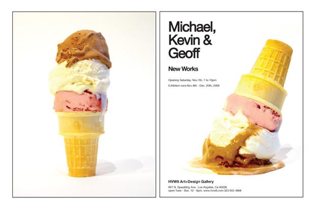 Michael, Kevin & Geoff Exhibition Los Angeles