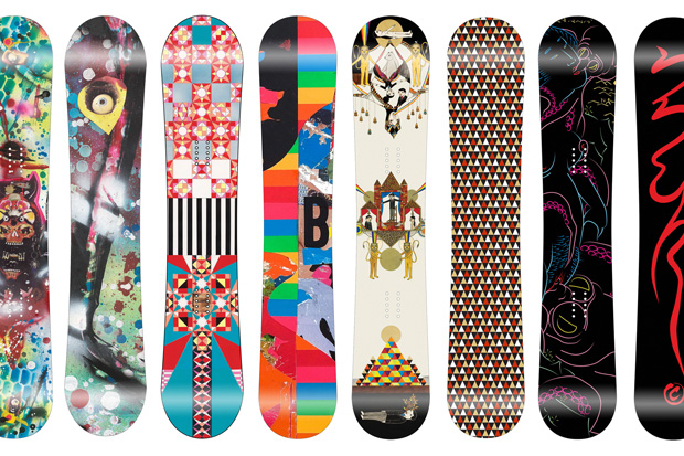 Monument Snowboards 2009 Fall/Winter Artist Series