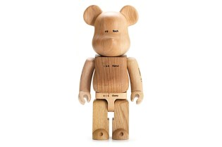 more trees x Karimoku x MEDICOM TOY 400% Bearbrick