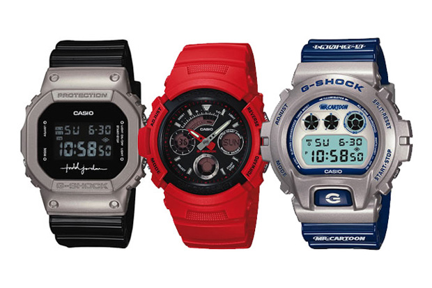 Mr Cartoon x Todd Jordan x Redman x Casio G-Shock 'Youth Culture' Watches