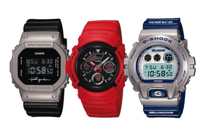 Mr Cartoon x Todd Jordan x Redman x Casio G-Shock 'Youth Culture' Watches
