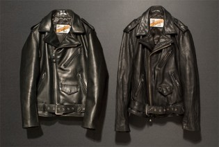 nano・universe GROUNDFLOOR x Schott Perfecto Leather Jacket