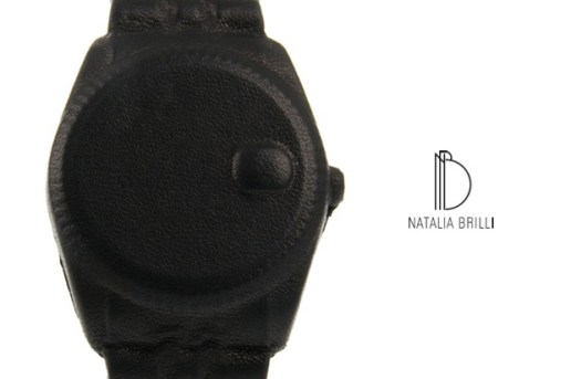 Natalia Brilli Leather Watch Bracelet
