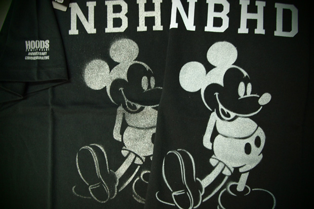 "HOODS Nagoya & Fukuoka ""Mickey Mouse"" NEIGHBORHOOD Anniversary Tees"