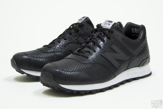 New Balance Lux 574 Black/White
