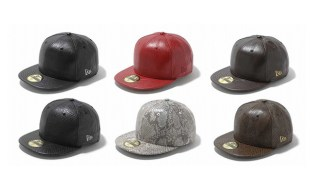 New Era Japan Leather Fitteds