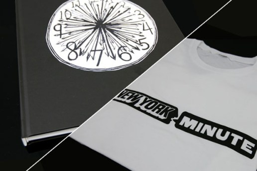 New York Minute Book and T-shirt Set