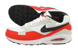 Nike Air Max ST White/Challenge Red
