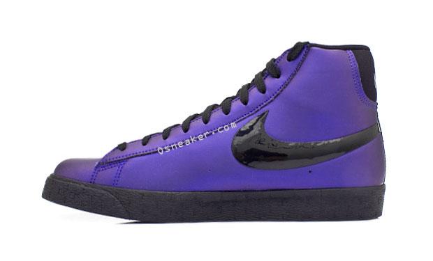 Nike Eggplant Blazer High Premium