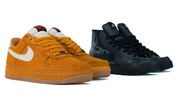 Nike Savage Beast Air Force 1 & ACG X-Ray Blazer