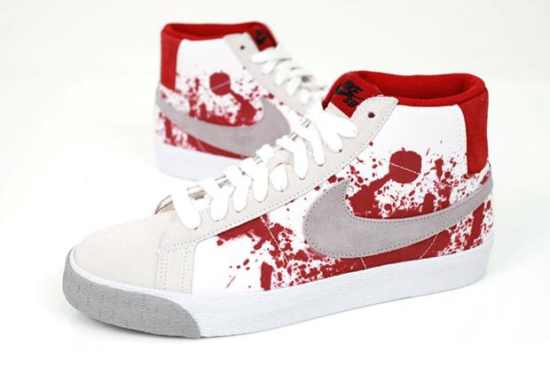 "Nike SB ""Blood Splatter"" Blazer Premium"