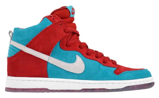 Nike SB Dunk Hi Varsity Red/Blue