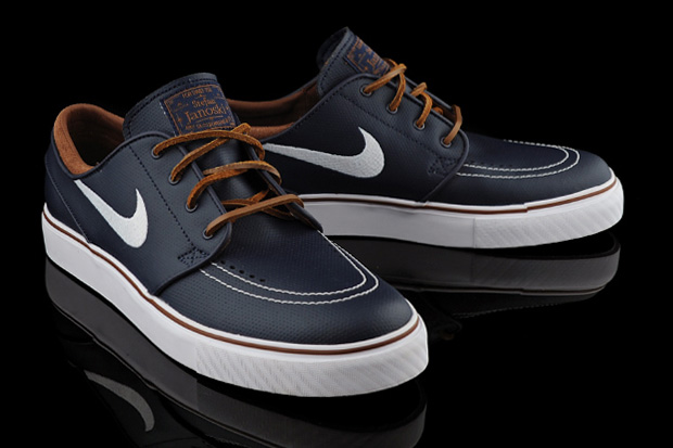Nike SB Zoom Stefan Janoski Obsidian Leather