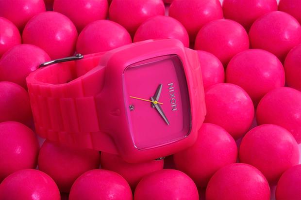 Nixon The Fluro Player Pink Watch
