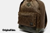 OriginalFake x Porter Khaki Tote Bag / Day Bag