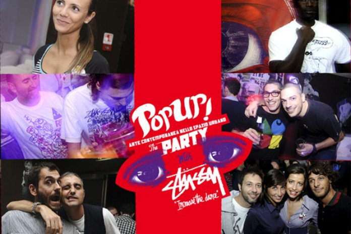POP UP! with Stussy Party Photography