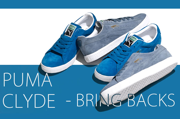 "Puma Clyde ""Bring Backs"""