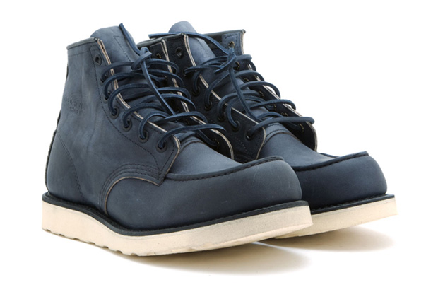 "Ronnie Fieg for Red Wing Shoes 6"" Ashy Blue Boots"