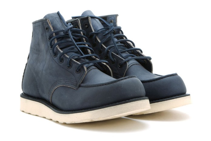 """Ronnie Fieg for Red Wing Shoes 6"""" Ashy Blue Boots"""