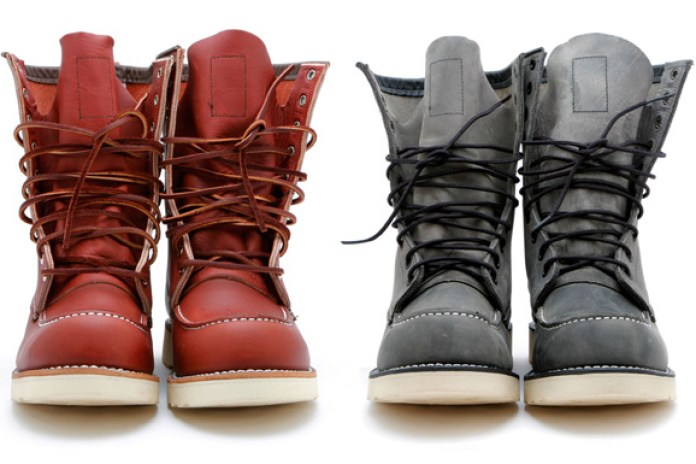 "Ronnie Fieg for Red Wing Shoes 8"" Boots"