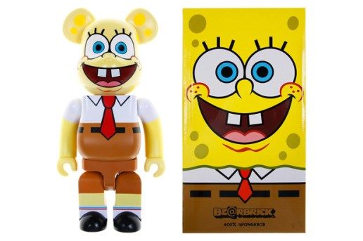 SpongeBob SquarePants x MEDICOM TOY Bearbrick 400%