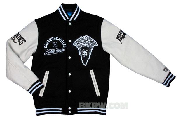 Stereo Panda x Crooks & Castles Varsity Jacket