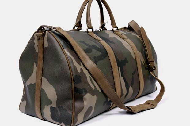 Trussardi 1911 Camouflage Bags