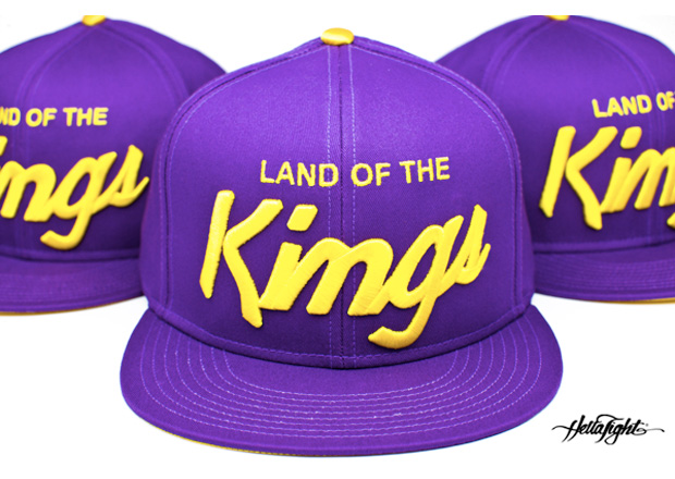"U-N-I x Hella Tight ""Land of The Kings"" Snapback Cap"
