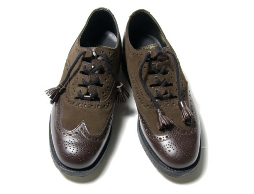 Unused x Sanders UH0216 Wingtip Oxford