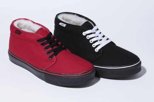 Vans California Fleece Chukka Boot Pack