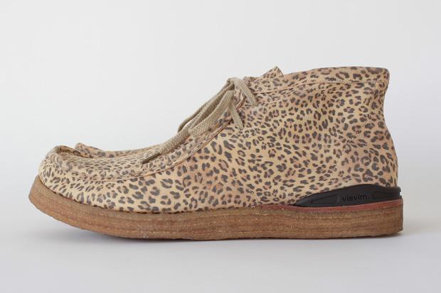 visvim Beuys Trekker SF-Folk Leopard