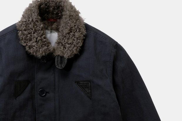 visvim DECKHAND JACKET (SHEEP LINING) *F.I.L. EXCLUSIVE