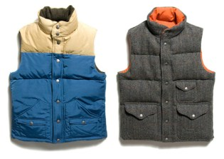 Waste(Twice) Harris Tweed Down Vest