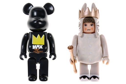 "Where The Wild Things Are x Medicom Toy ""Max"" 100% & 400% Kubrick & Bearbrick"